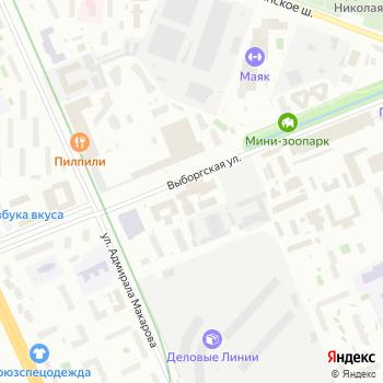 ИнтерБумага-С на Яндекс.Картах