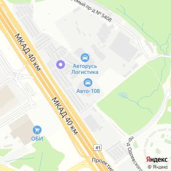 Чайка-3 на Яндекс.Картах