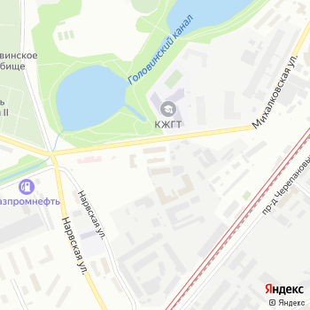 Противотуберкулезный диспансер №16 на Яндекс.Картах