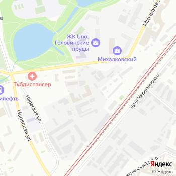 Истра-Ламбер на Яндекс.Картах