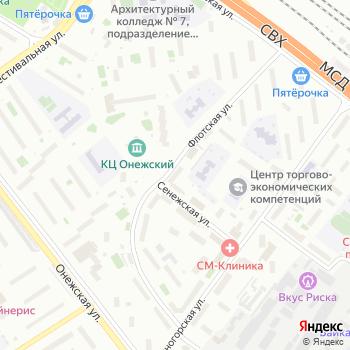 ОПОП Северного административного округа на Яндекс.Картах