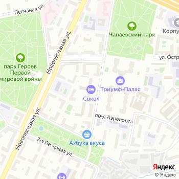 Сокол на Яндекс.Картах