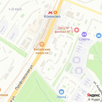 Столичный эвакуатор на Яндекс.Картах