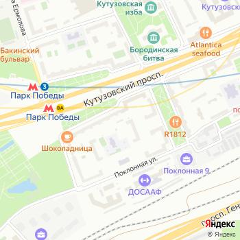 Mersedes-центр на Кутузовском на Яндекс.Картах