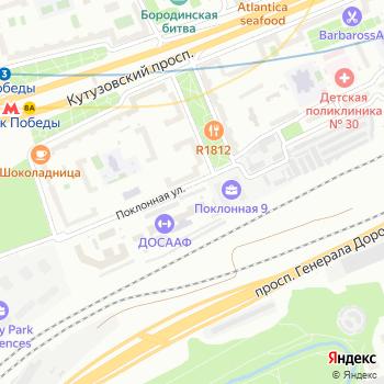 Гаражно-потребительский кооператив на Поклонной горе на Яндекс.Картах