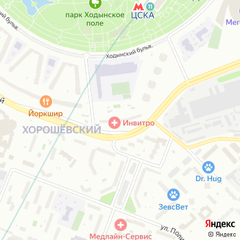 Терра-Минора на Яндекс.Картах