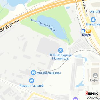 Техстрой на Яндекс.Картах
