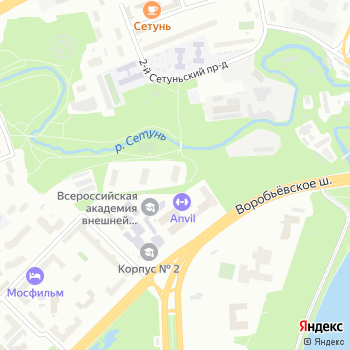 А.М. Вет на Яндекс.Картах