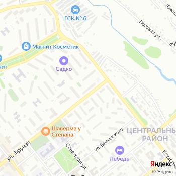 Почта с индексом 309189 на Яндекс.Картах