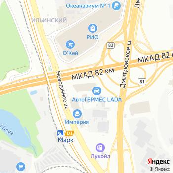АЛПИКОМ на Яндекс.Картах
