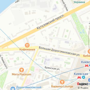 Танцы плюс Я на Яндекс.Картах