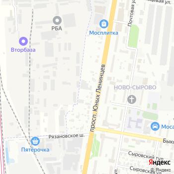 Мастак Подольск на Яндекс.Картах