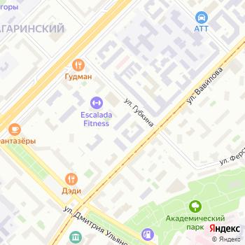 ИВМ РАН на Яндекс.Картах