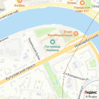 Почта с индексом 121248 на Яндекс.Картах
