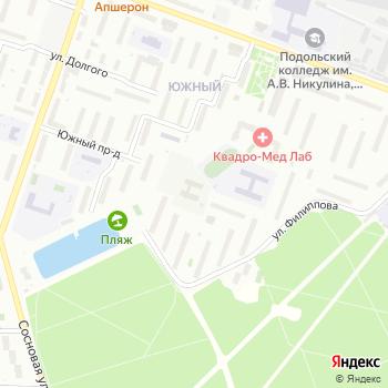 Моя Русь на Яндекс.Картах