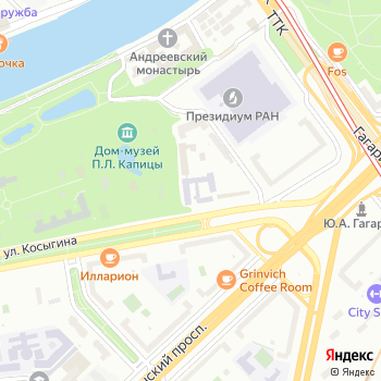 Письма в журнал экспериментальной и теоретической физики на Яндекс.Картах