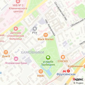Реставрация Н на Яндекс.Картах
