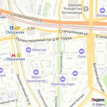 Почта с индексом 127106 на Яндекс.Картах