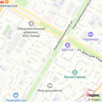 Управление социальной защиты населения Юго-Западного административного округа на Яндекс.Картах
