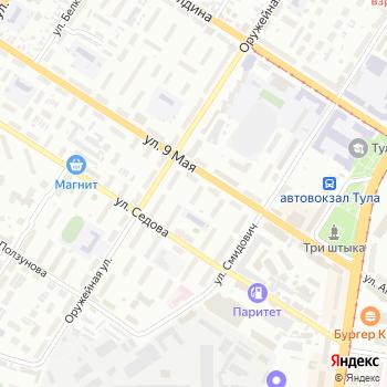 У`Дачный на Яндекс.Картах