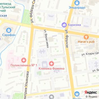 Диал на Яндекс.Картах