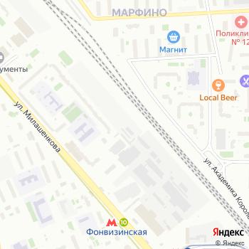 Бутырский хутор на Яндекс.Картах
