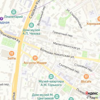 MasterTrack на Яндекс.Картах