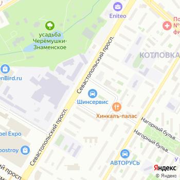 Акцент-Авто 1 на Яндекс.Картах