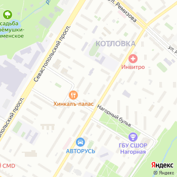 Отдельный батальон полиции Управления вневедомственной охраны при УВД по Юго-Западному административному округу на Яндекс.Картах