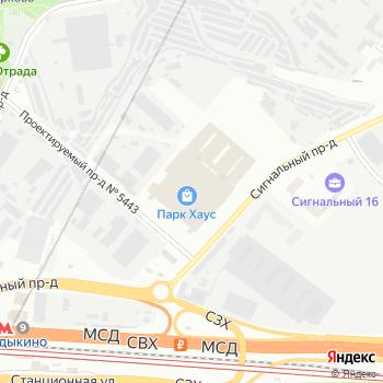 Velars на Яндекс.Картах