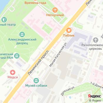 Энергетический НИИ им. Г.М. Кржижановского на Яндекс.Картах