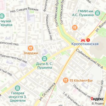 Зарубеж-Экспо на Яндекс.Картах
