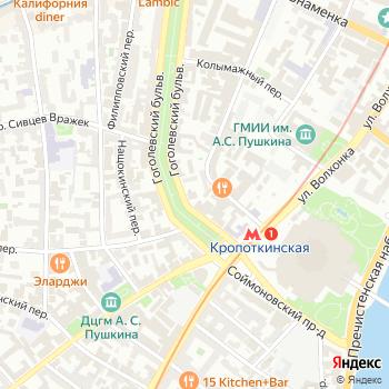 СВ тур К на Яндекс.Картах