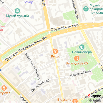 Тверской на Яндекс.Картах