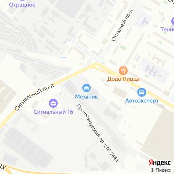 CX27 на Яндекс.Картах