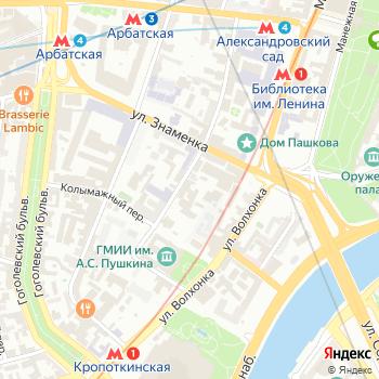 ЭПОС на Яндекс.Картах