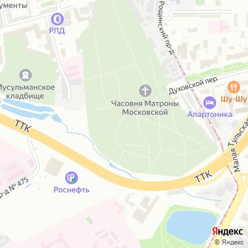 Храм-часовня Николая Чудотворца над могилой Н.И. Гребневского на Яндекс.Картах