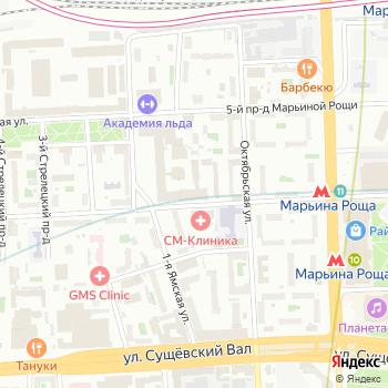 Бриони на Яндекс.Картах