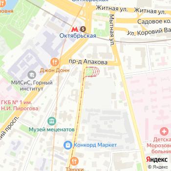 Трамвайное депо им. П.Л. Апакова на Яндекс.Картах