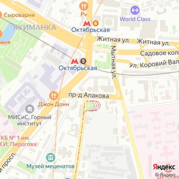 Служба Центрального административного округа Управления Федеральной службы РФ по контролю за оборотом наркотиков по г. Москве на Яндекс.Картах