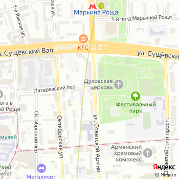 Марьина Роща на Яндекс.Картах