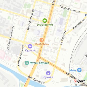 Почта с индексом 300002 на Яндекс.Картах