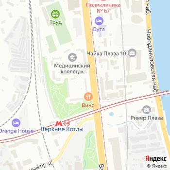 Почта с индексом 117105 на Яндекс.Картах
