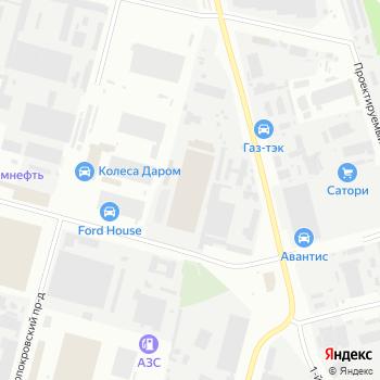 Альтаир ПБ на Яндекс.Картах