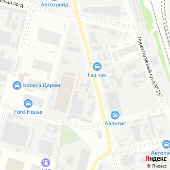 СД-комфорт на Яндекс.Картах
