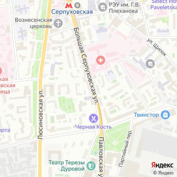 Почта с индексом 115093 на Яндекс.Картах
