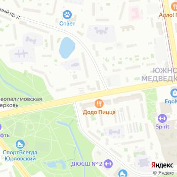 Управление социальной защиты населения на Яндекс.Картах