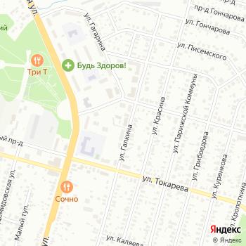 Планета связи на Яндекс.Картах
