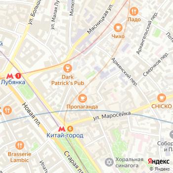 Щит 98 на Яндекс.Картах