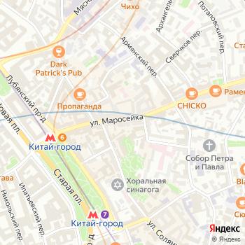 Талер на Яндекс.Картах